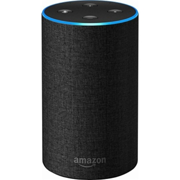 Echo (2nd Generation) - Smart speaker with Alexa - Charcoal Fabric - 1