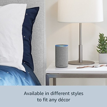 Echo (2nd Generation) - Smart speaker with Alexa - Charcoal Fabric - 31