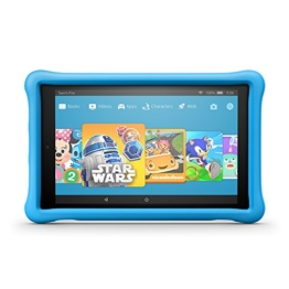 "Fire HD 10 Kids Edition Tablet, 10.1"" 1080p Full HD Display, 32 GB, Blue Kid-Proof Case - 1"